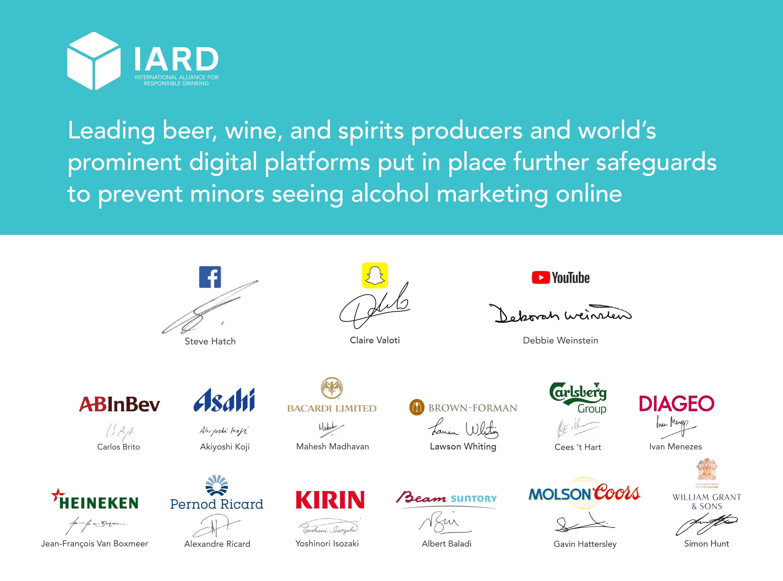 มาตรฐานความรับผิดชอบทางการตลาดเครื่องดื่มแอลกอฮอล์บนสื่อสังคมออนไลน์
